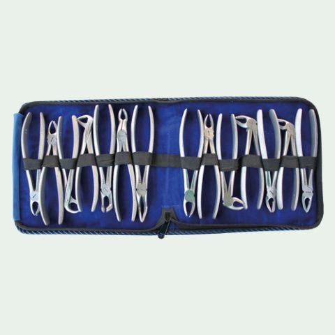Extraction Forceps Set Of 14 Pcs kit 12