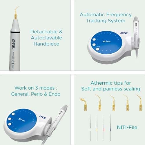 DTE D5 Dental Scaler Key Feature