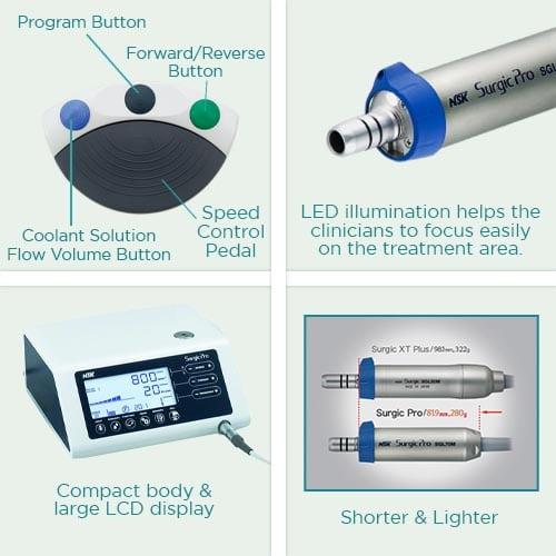 NSK Physiodispenser Surgic Pro Key Feature2