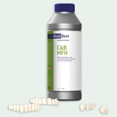 Next Dent C and B MFH Dental Resin