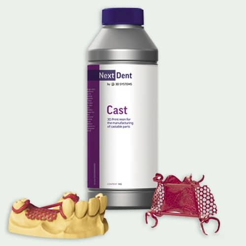 Next Dent Cast Dental Resin