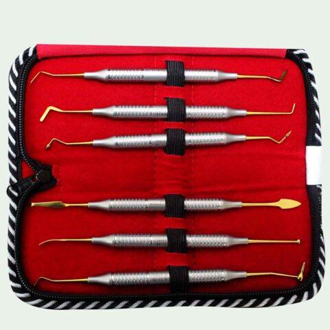 Kit No. 17 Composite Instruments Gold TC Set Of 6 Pcs